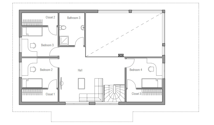 324822191846421029 also 0078b6917d6ce62b House Plans With Mother In Law Quarters likewise 24 Foot Truss Dimensions in addition HOUSTONHP 600 1 as well Capes1. on 24 x 32 house plans