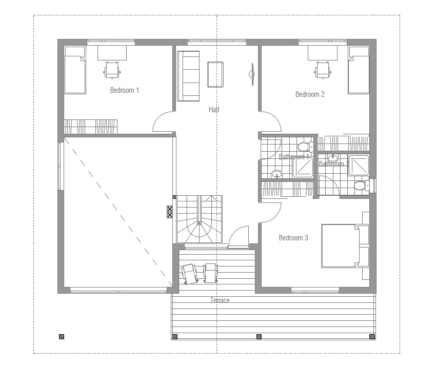 2 bedroom contemporary house plans house plans and design modern house plans 4 bedroom 17949