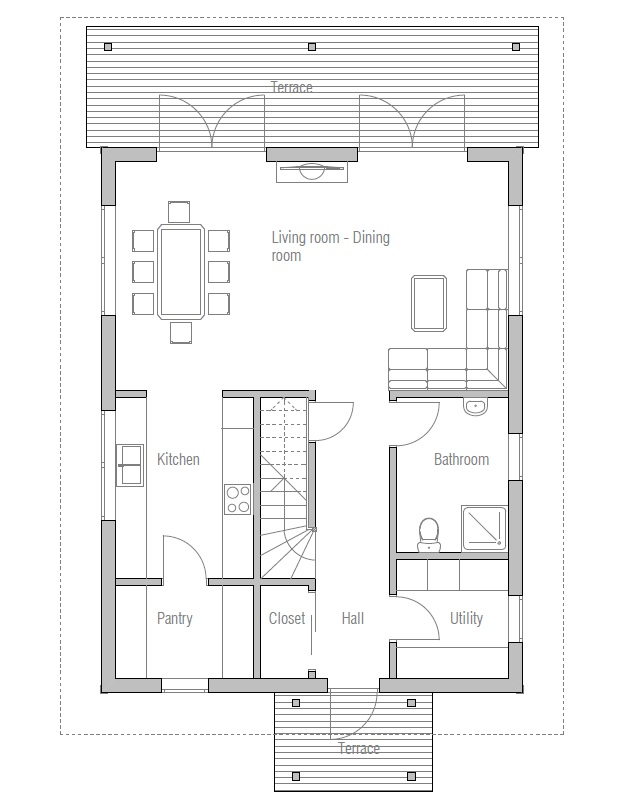 Affordable Home Ch41 Floor Plans And Detailed Info