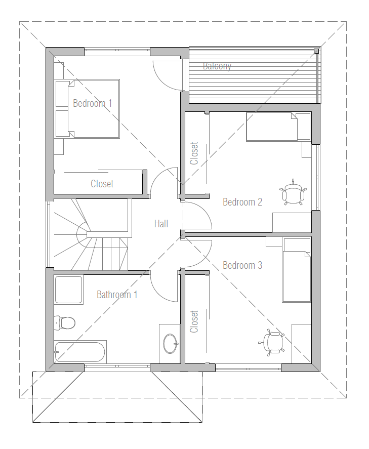 Small House Plan With Affordable Building Budget. House Plan